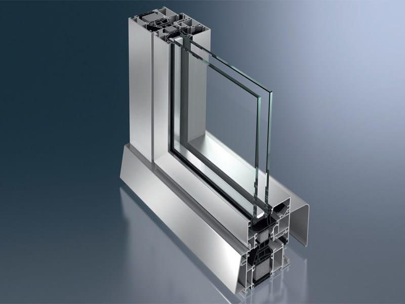 Aluminium patio door AWS 70.HI tilt/slide by Schüco