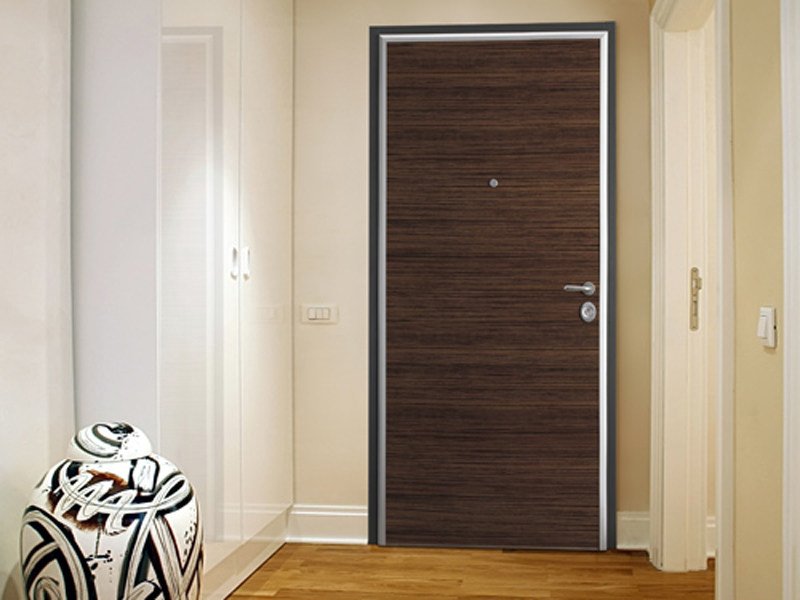 Entry door with concealed hinges ELEGANCE by TORTEROLO & RE