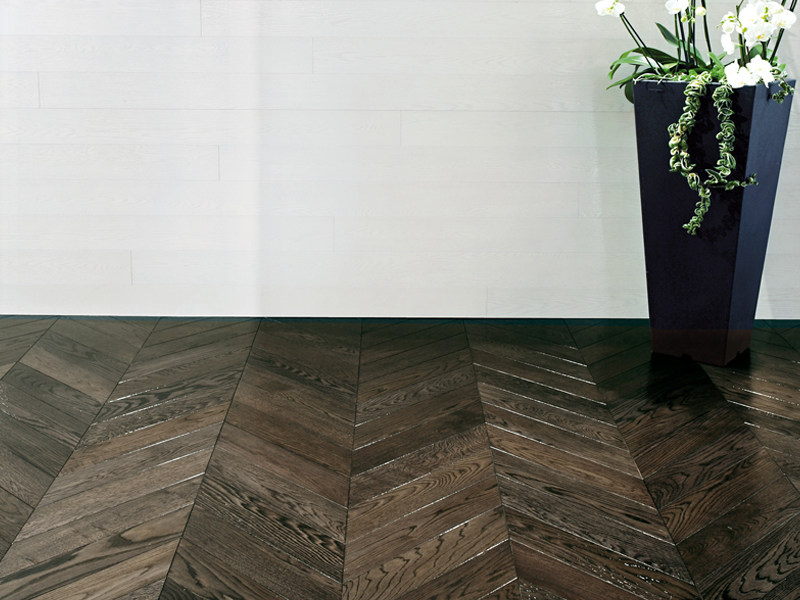 Wooden parquet NOBLESSE LE NOIR by Garbelotto srl