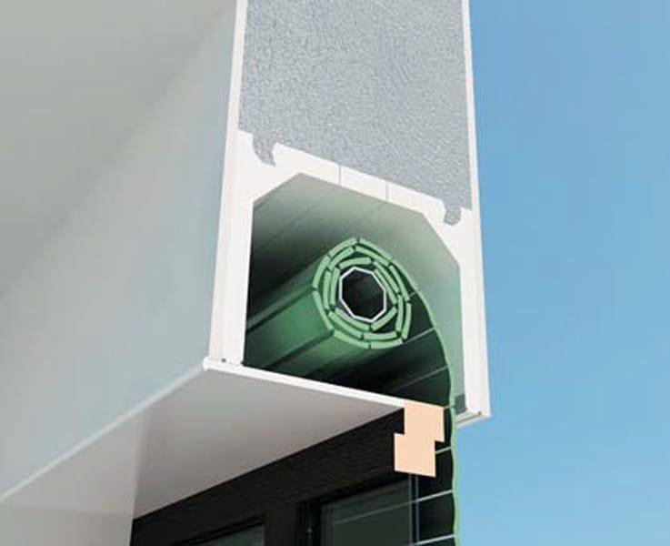 Box for roller shutter MODU by EDILCASS