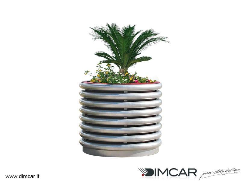Metal Flower pot Fioriera Azalea by DIMCAR