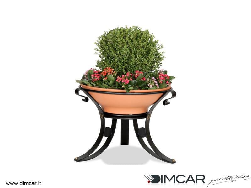Metal Flower pot Fioriera Dalia by DIMCAR