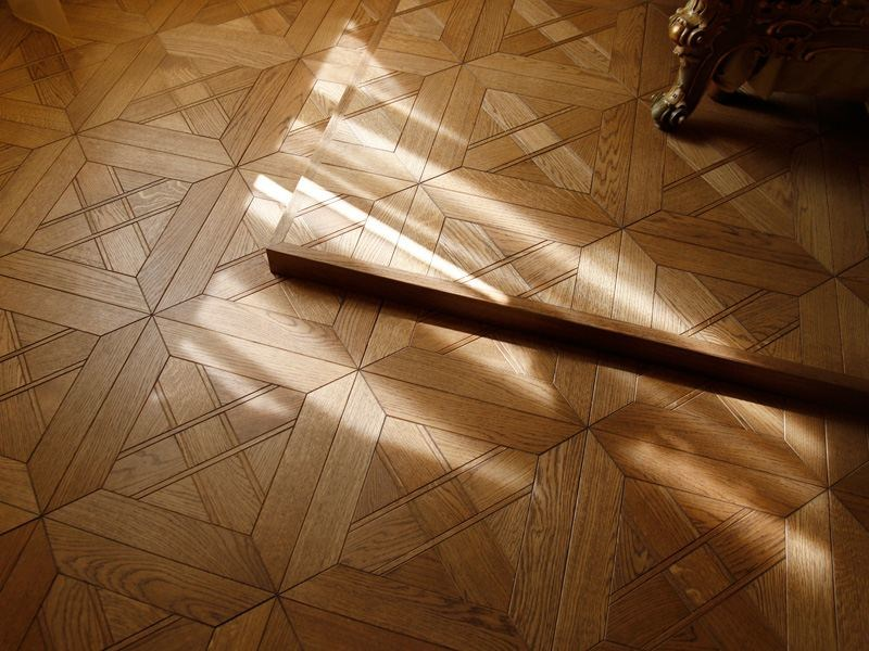 Prefinished wooden parquet PATTERNED FLOOR by MENOTTI SPECCHIA