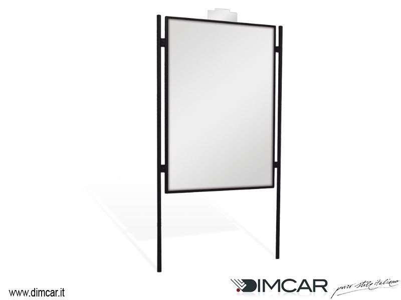 Metal Display panel Tabellone Visual by DIMCAR