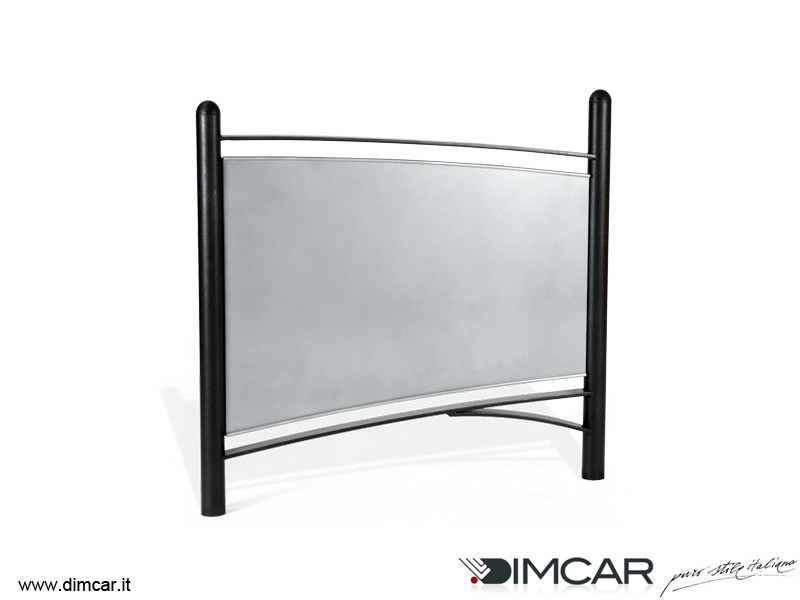 Galvanized steel pedestrian barrier Transenna Tea by DIMCAR