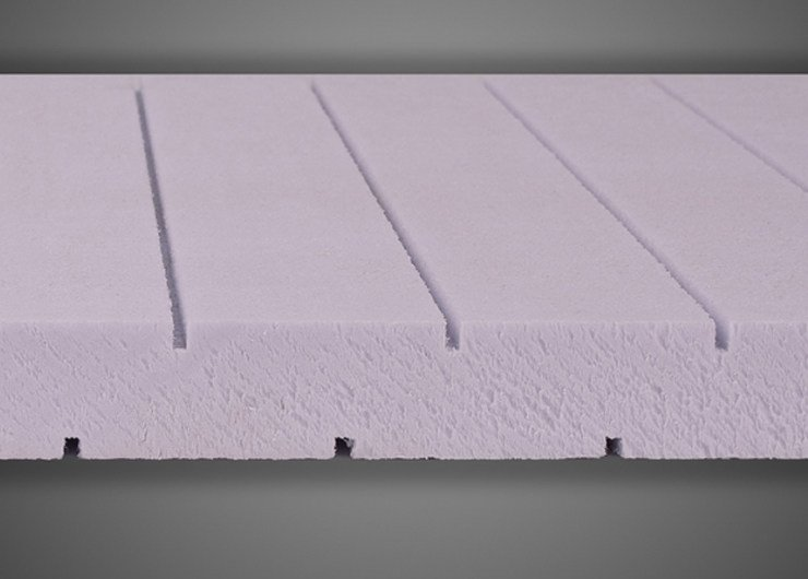 XPS thermal insulation panel X-FOAM® TRC | XPS Insulation system for special application by Ediltec