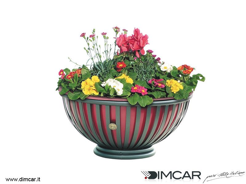 Metal Flower pot Fioriera Tulipano by DIMCAR