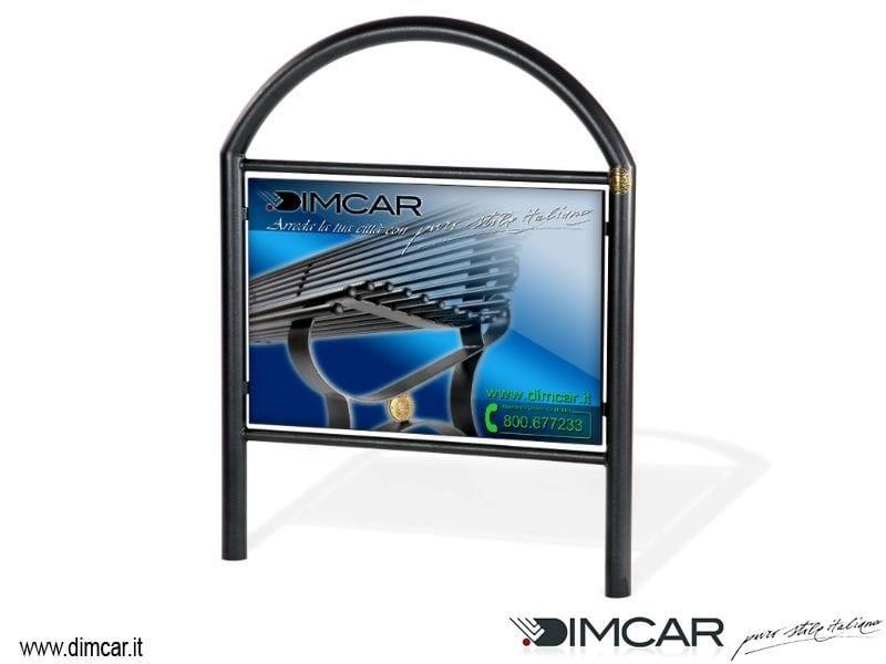 Steel pedestrian barrier Transenna City by DIMCAR