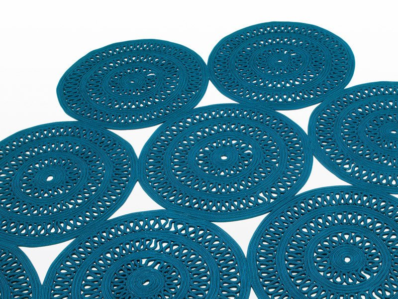 Patterned outdoor rug SHANG by paola lenti