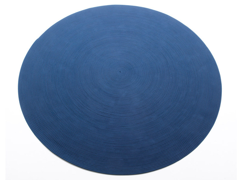 Solid-color round rug ZOE | Solid-color rug by paola lenti