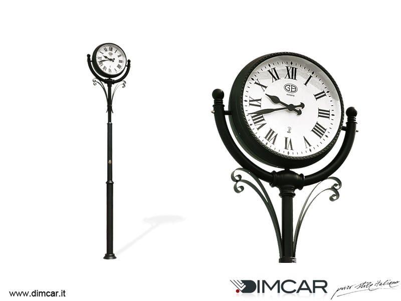 Double-Sided street clock Orologio Epoca by DIMCAR