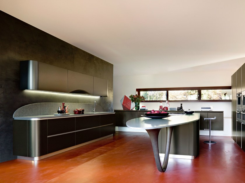 OLA 20 | Kitchen with island ICONE Collection By Snaidero design ...
