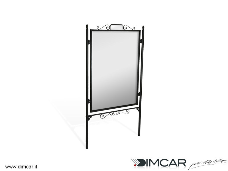 Metal Display panel Tabellone Barocco by DIMCAR