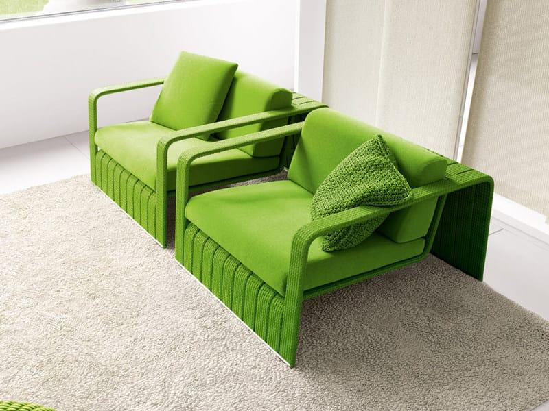 Garden armchair FRAME | Garden armchair by paola lenti
