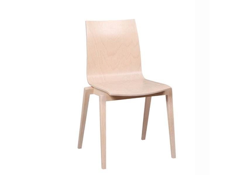 Wooden chair STOCKHOLM | Chair by TON