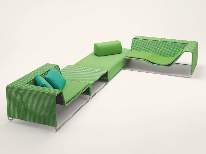 ISLAND | Garden sofa By paola lenti design Francesco Rota