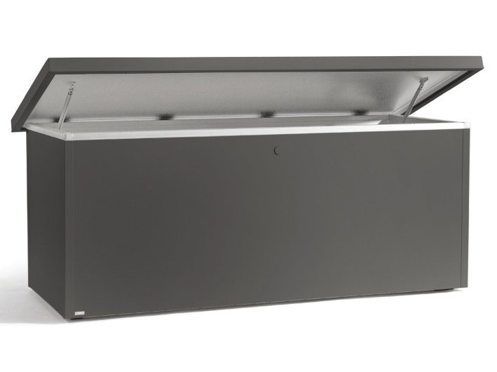 Aluminium garden cabinet FUSE CUSHION BOX by MANUTTI