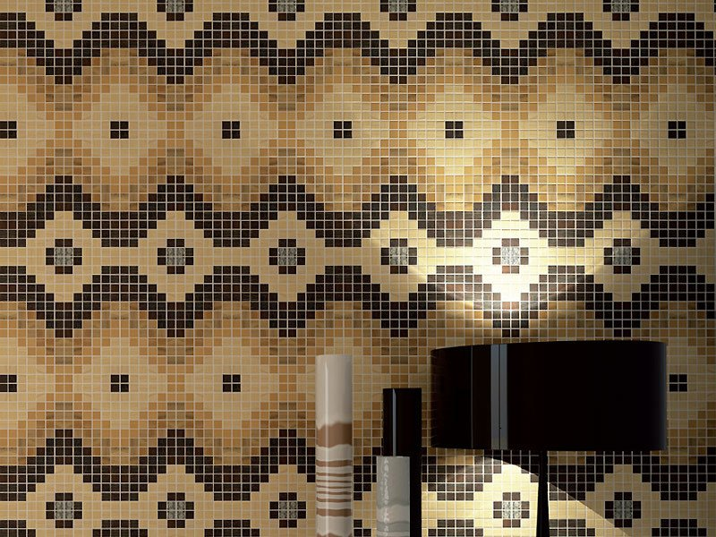 Wooden Mosaic MOSAICO By IDEAL LEGNO