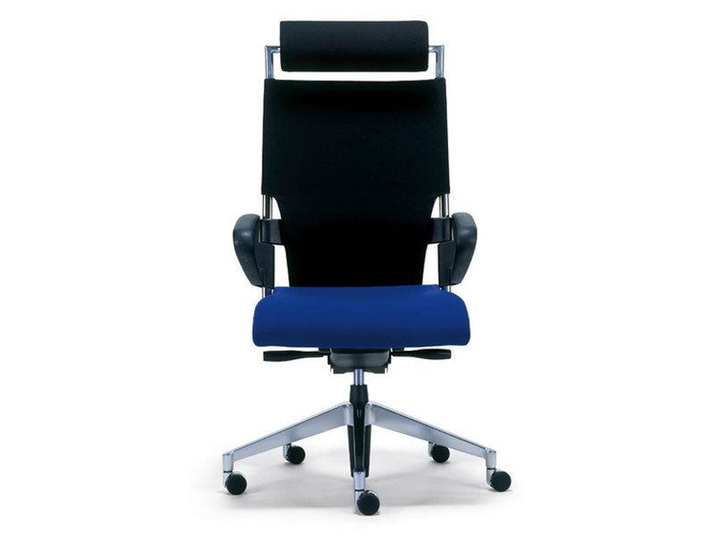 Task chair with 5-Spoke base with casters DRIVE | Task chair with armrests by Brunner