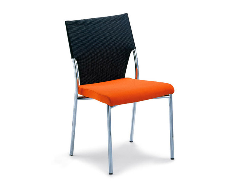 Fabric visitor's chair DRIVE | Chair by Brunner