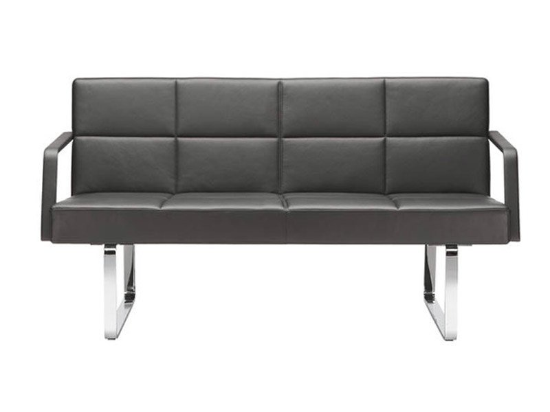 2 seater leather sofa GRATO   2 seater sofa by Brunner