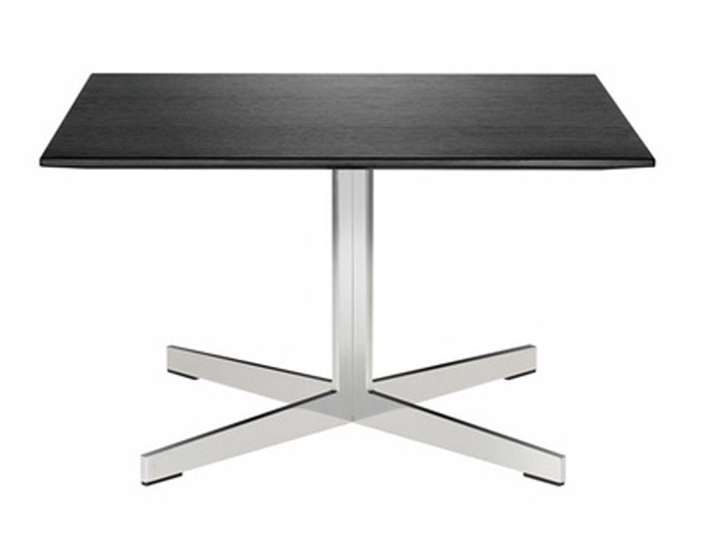 Square coffee table with 4-star base GRATO | Coffee table with 4-star base by Brunner