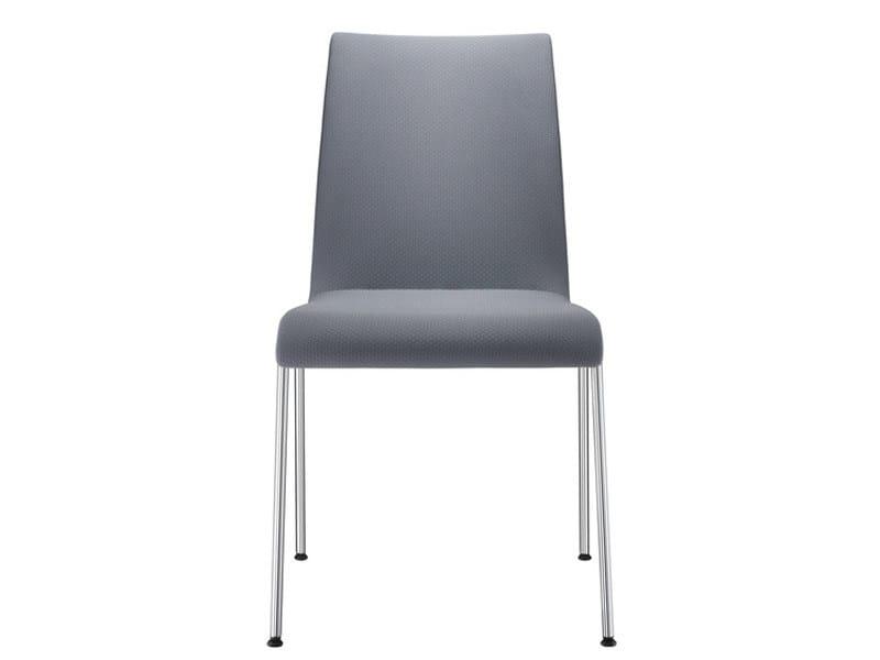 Upholstered wooden chair PRIME   Upholstered chair by Brunner