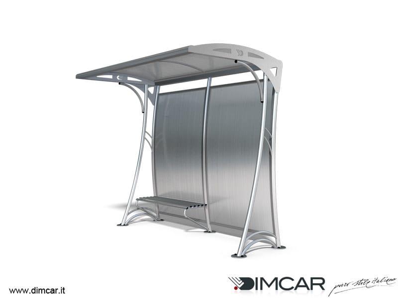 Metal porch Pensilina Edora by DIMCAR