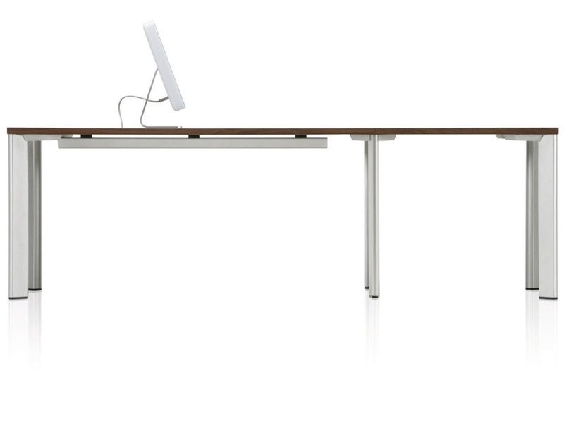 Rectangular meeting table STATE by Brunner
