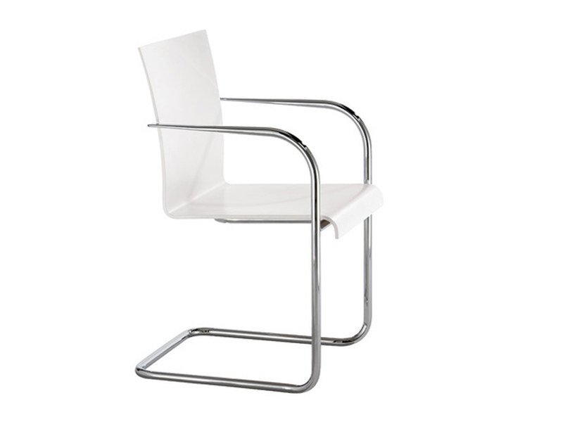 Cantilever chair with armrests VERONA | Chair with armrests by Brunner