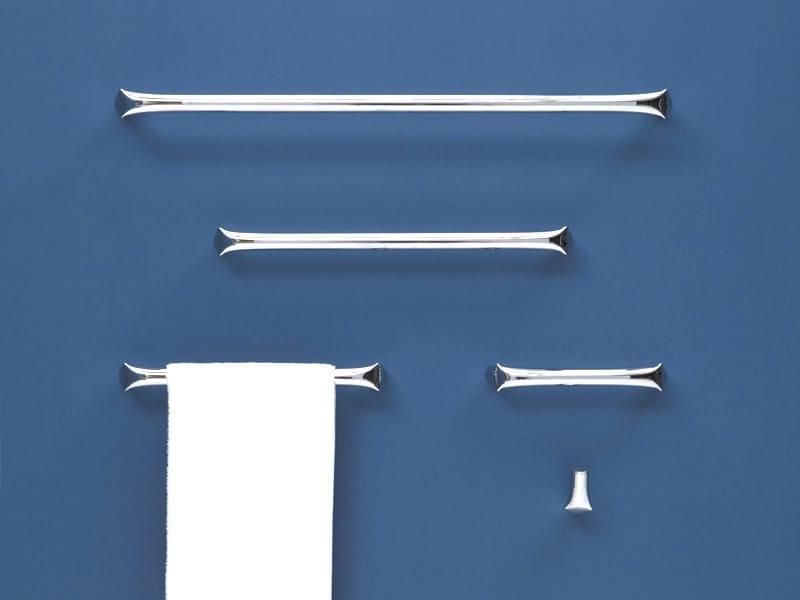 Chrome plated towel rail FOLD | Towel rack by CERAMICA FLAMINIA