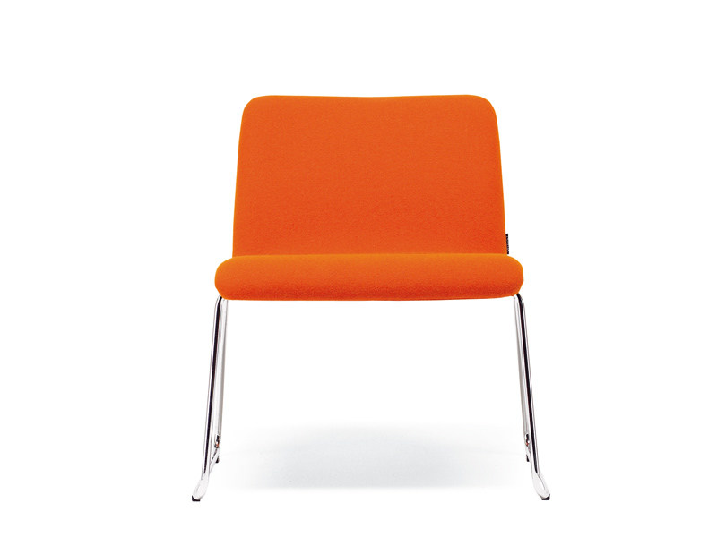 Sled base fabric easy chair MONO LIGHT   Easy chair by Offecct