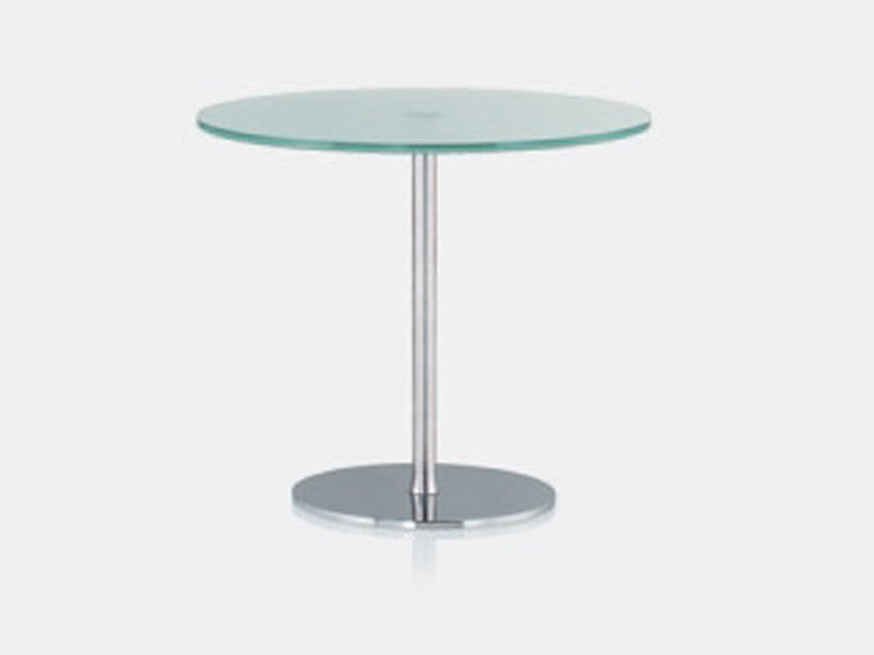 Round glass coffee table HAVANA | Coffee table by Brunner