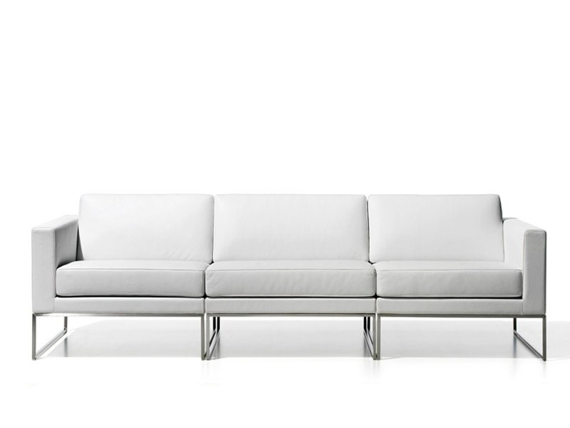 Leather sofa DS-160 | 3 seater sofa by de Sede