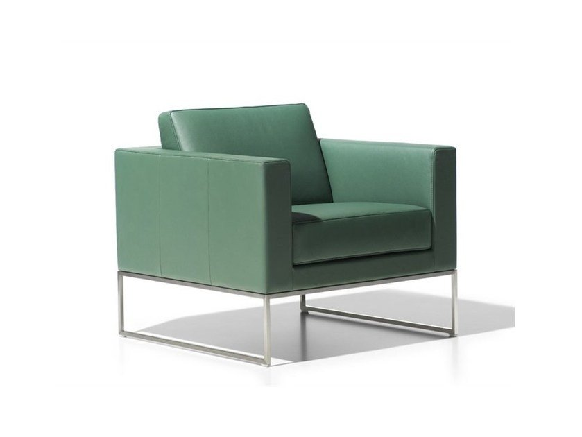 Leather armchair DS-160 | Armchair by de Sede