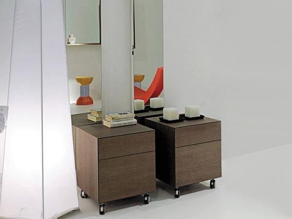 COMPONO SYSTEM | Mobile bagno con ruote dim.: cm 45 x 45 h45 - Matrix Caffé