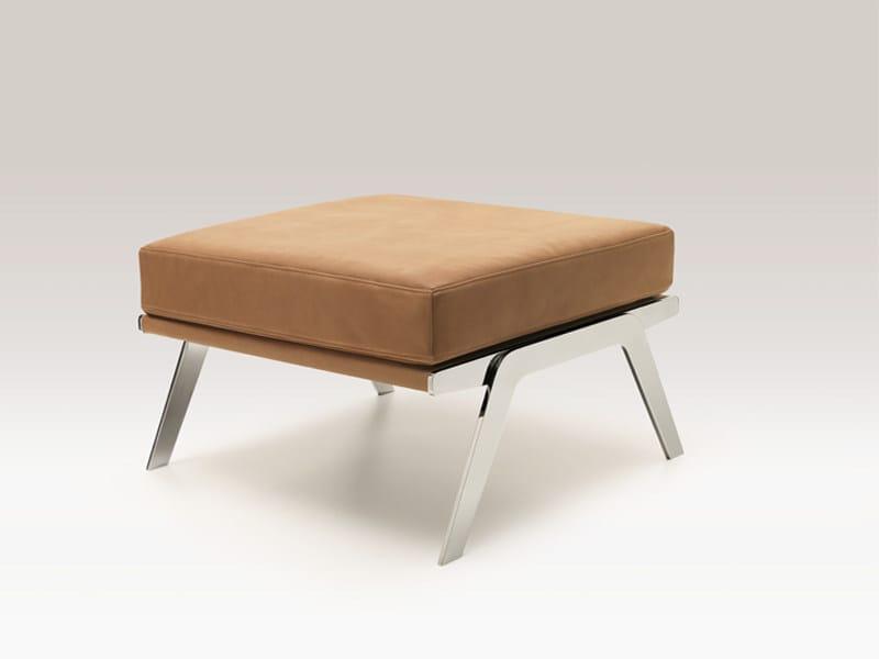Leather pouf DS-60 | Pouf by de Sede