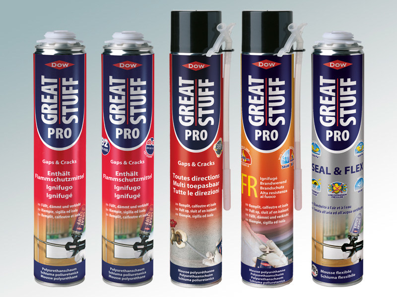 Polyurethane sealant GREAT STUFF™ PRO by DOW Building Solutions