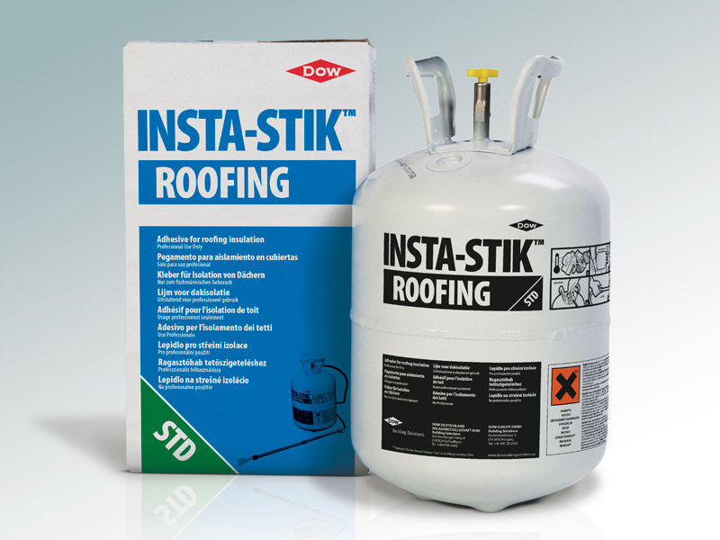 Adhesive and resin for waterproofing INSTA-STIK by DOW Building Solutions