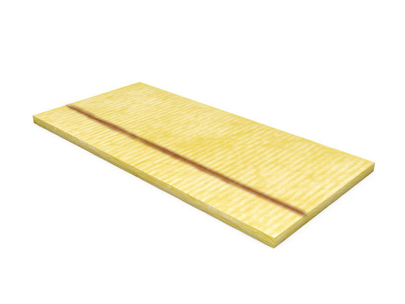 Panel in mineral fibre for thermal and sound insulation COMPATTO® Clima 34 by TERMOLAN