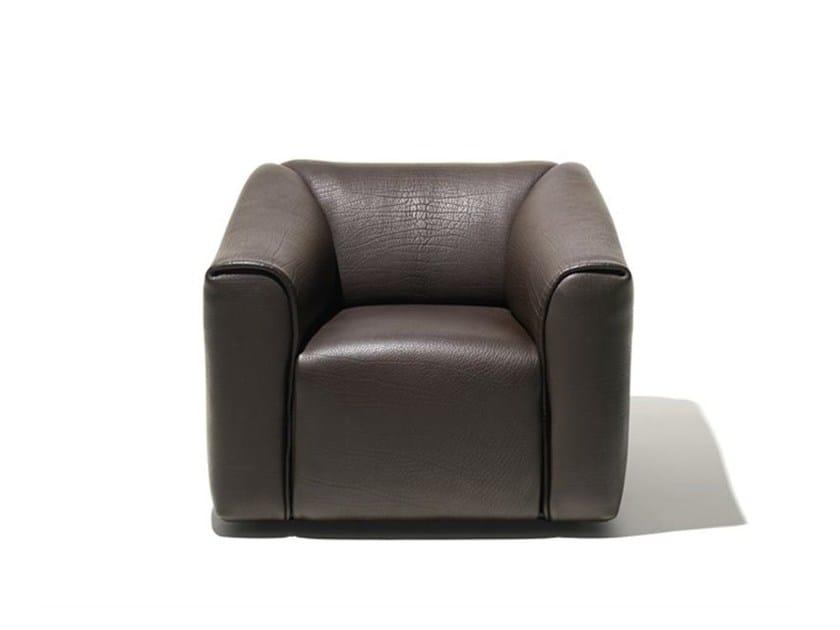 Leather armchair DS-47 | Armchair by de Sede