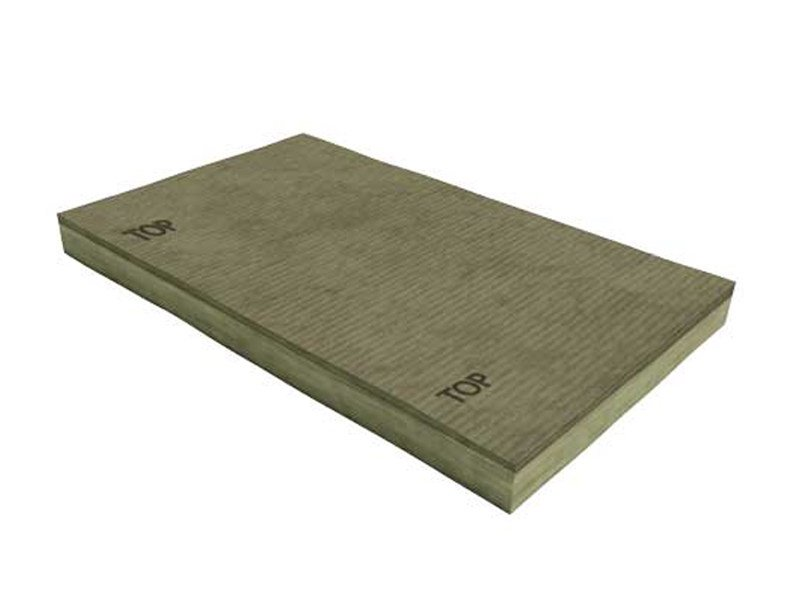 Panel in mineral fibre for thermal and sound insulation SOLIDA® Cappotto RP-PT 2 by TERMOLAN