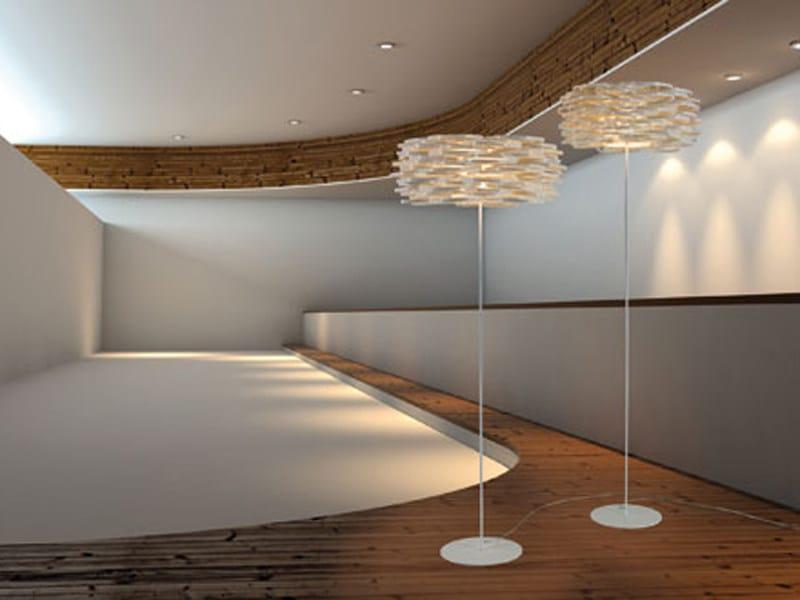Polypropylene floor lamp AROS | Floor lamp by arturo alvarez