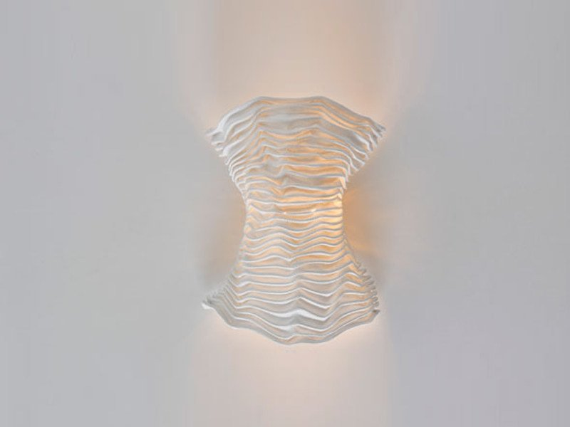 Indirect light silicone wall lamp CORS | Wall lamp by arturo alvarez