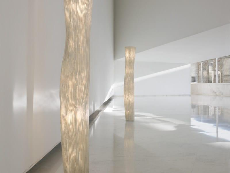 Indirect light metal floor lamp GEA | Floor lamp by arturo alvarez