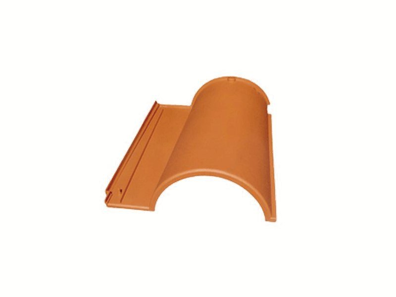 Recycled plastic roof tile ECOTEGOLA® by PROJECT FOR BUILDING