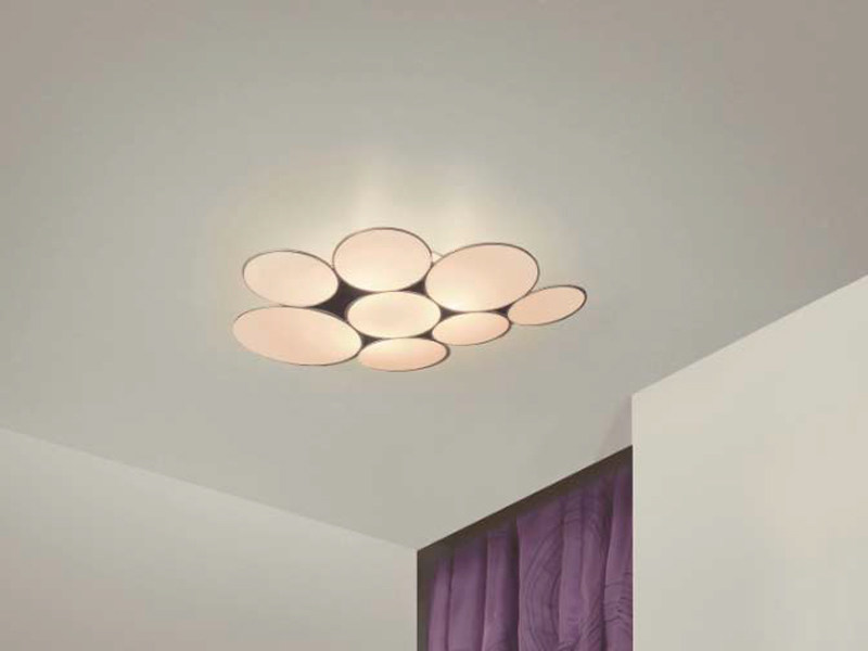 Glass ceiling lamp GLUC | Ceiling lamp by arturo alvarez