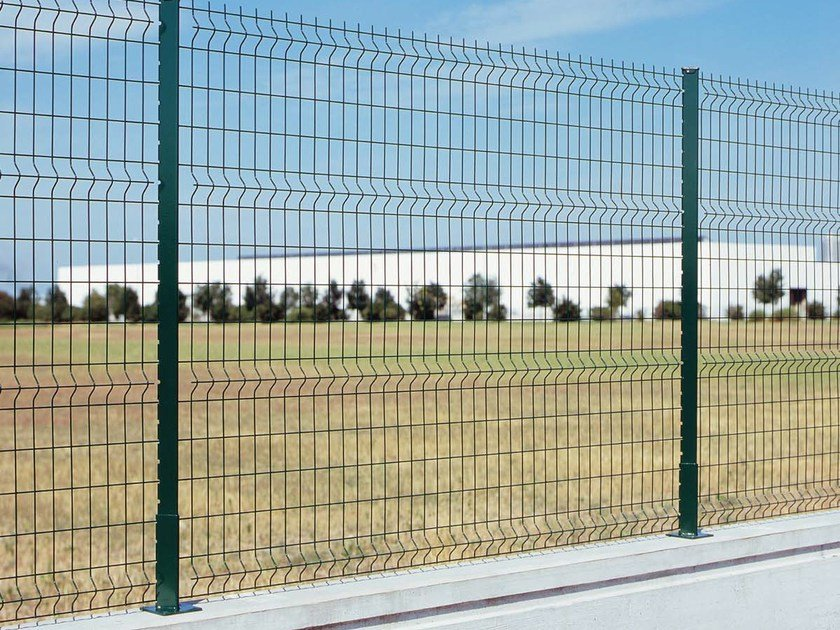 Soluzioni Per Il Giardino : Recinzione modulare in acciaio zincato panoplax gruppo