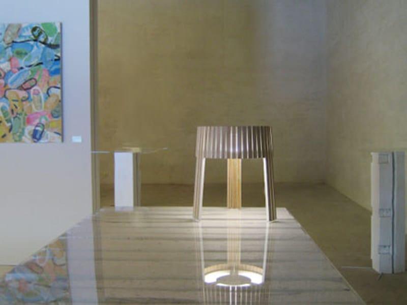 Multi-layer wood table lamp SHIO   Table lamp by arturo alvarez