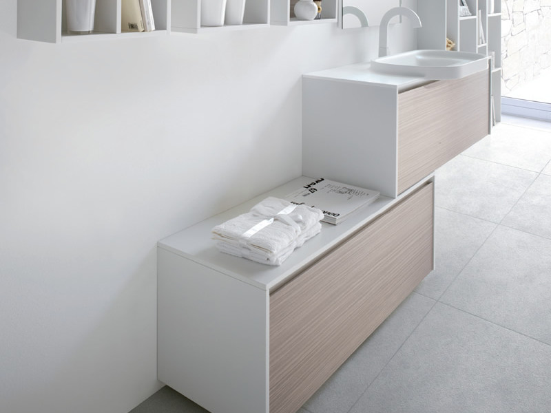 Single vanity unit METROPOLIS 15 by LASA IDEA